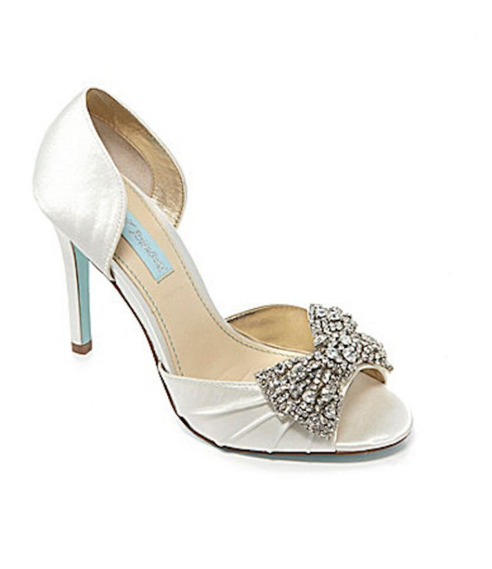 Get The Trend At Any Budget Bridal Shoes With Bows