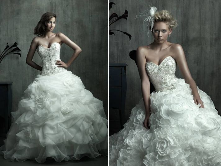 2011 Wedding Dress Trend: Big Ball Gowns, Endless Volume