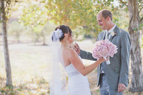 romantic winery wedding outdoor wedding venues bride groom first look