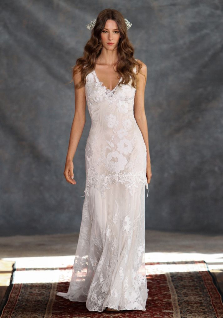 Gardenia Wedding Dress from Claire Pettibone s Romantique Collection