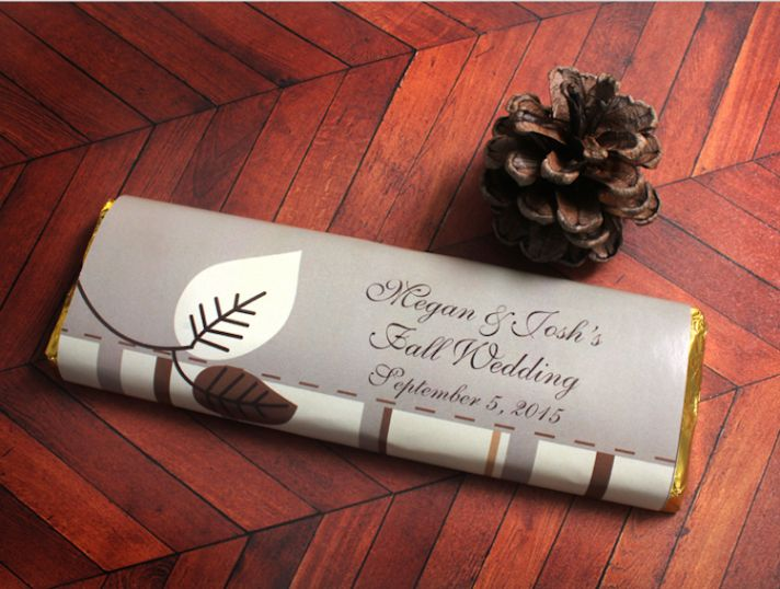 Fall Wedding Chocolate Bar