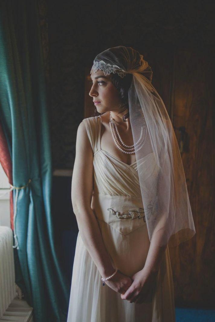 1930s Juliet Cap Veil Inspiration