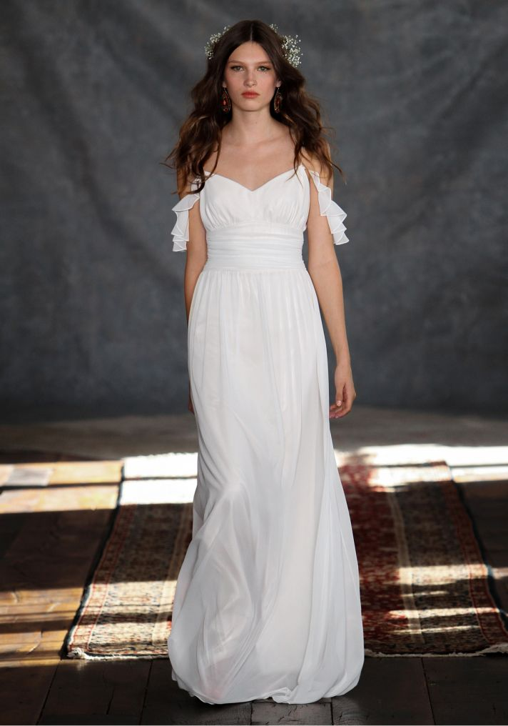 Ceylon Wedding Dress from Claire Pettibone s Romantique Collection