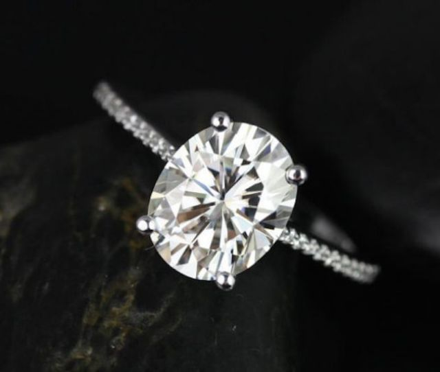 Get A Bachelorette Inspired Oval Shaped Engagement Ring At Any Budget Crazyforus