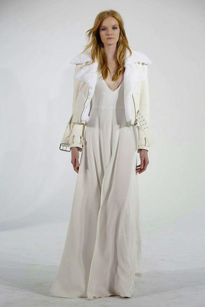 Jacket Wedding Dress