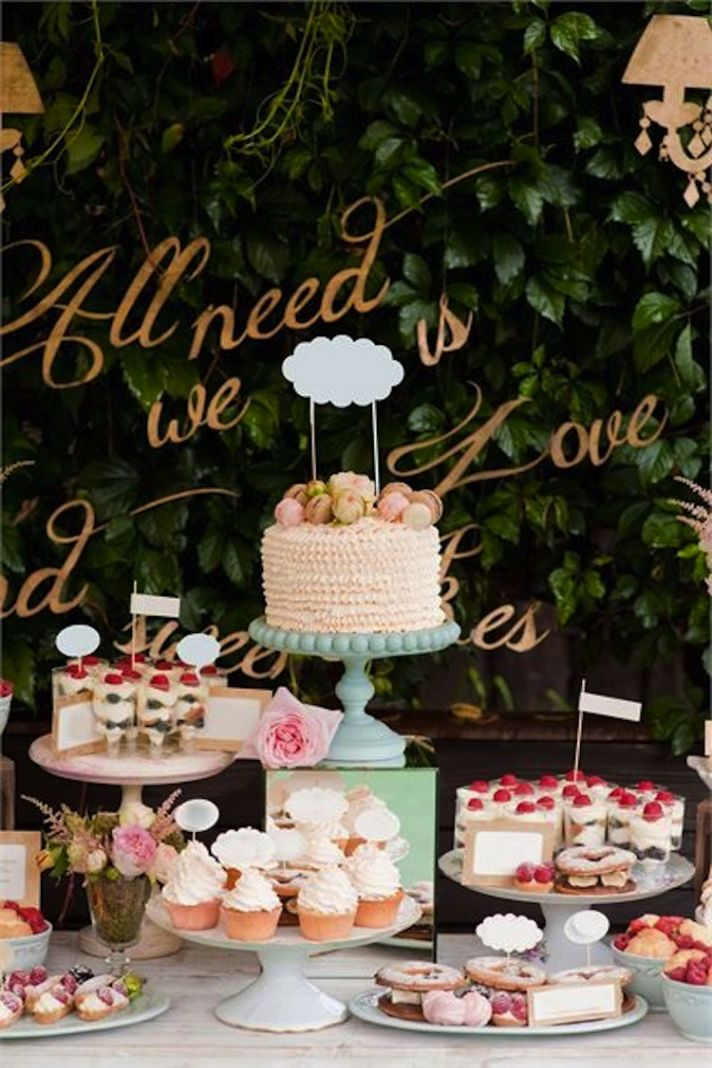 Delicious And Delightful Dessert Displays