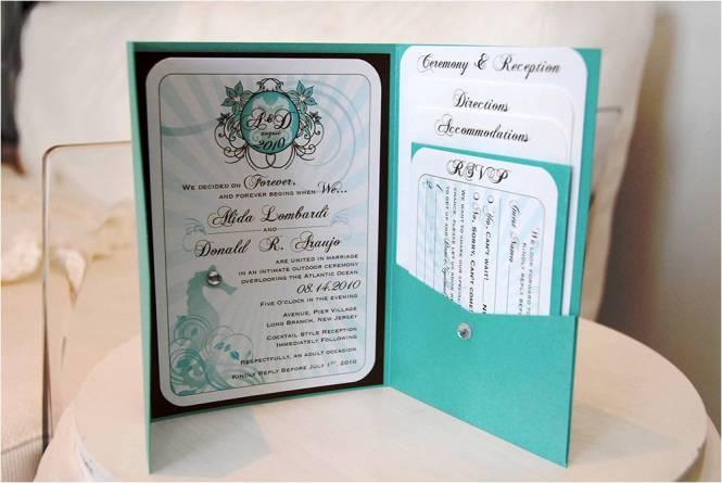Nola New Orleans Custom Wedding Invitations Metal Doily