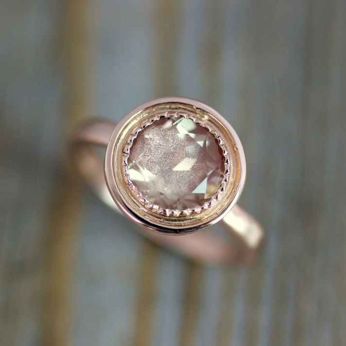 27 Non Diamond Engagement Rings That Sparkle Just As