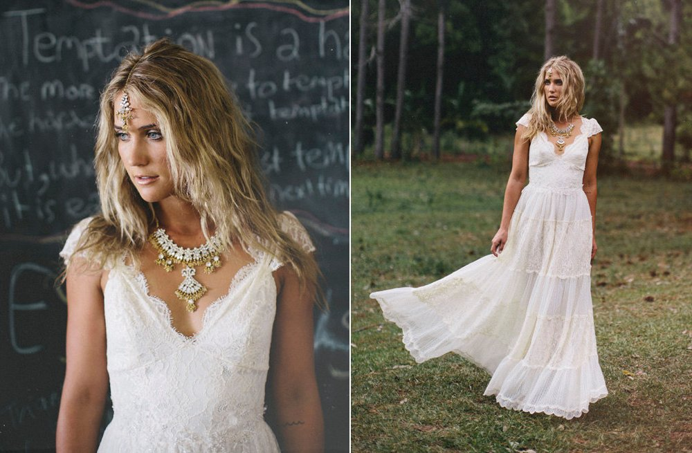 Lace Wedding Gowns Handmade Bridal 4