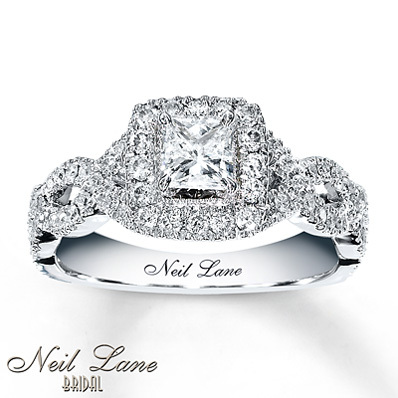 Popular Engagement Rings 2011 Neil Lane Cushion Cut