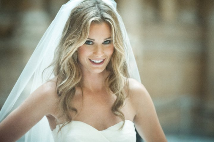 Wedding Hairstyles Long Hair Down With Veil | Cosmetik.co