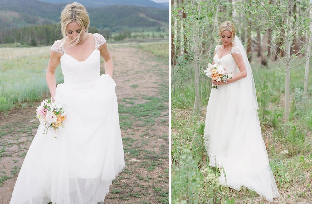 Beaded Cap Sleeve Wedding Dress With Layered Tulle Skirt