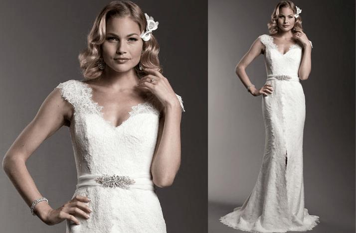 Cap Sleeves Wedding Dresses, 2012- Amy Kuschel