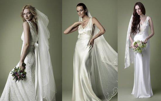 1940s Vintage Wedding Dress Cowl Neck