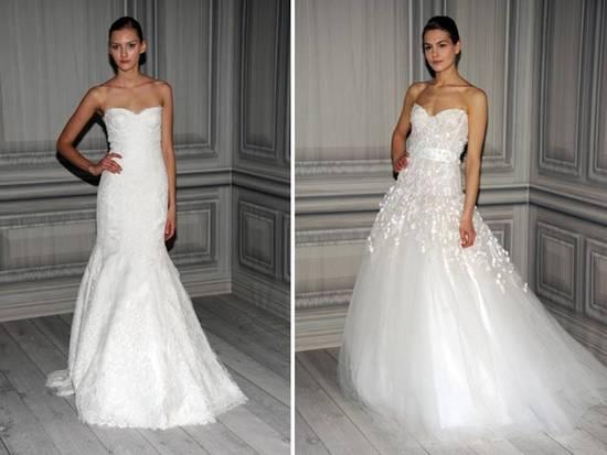 Romantic Pink Wedding Dress 2012 Monique Lhuillier Ballgown