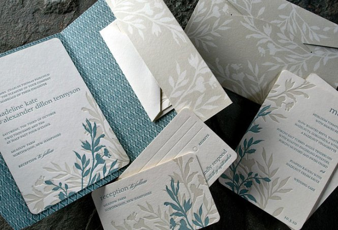 Montana Nature Inspired Calligraphy Wedding Invitations By Cast Photo Credit Orange Photographie
