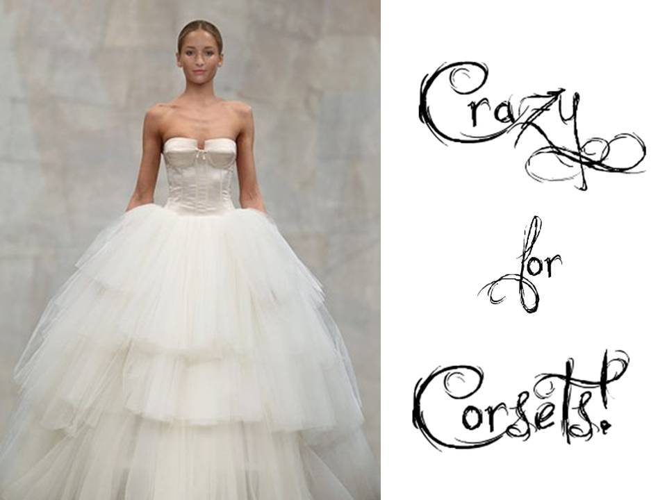 2011 Wedding Dress With Tulle Ballgown Skirt And Fitted