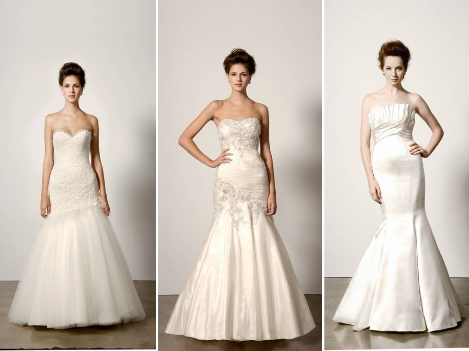 Trumpet And Mermaid Silhouette Wedding Dresses By Ines Di