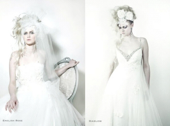 Unique Bridal Style Wedding Dresses- Dramatic Bridal