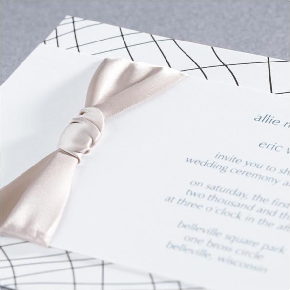 Monique Lhuillier Wedding Invitations Embrace