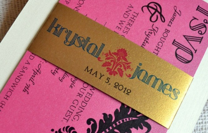 Gilded Wedding Invitations Etsy Weddings Stationery Gold Hot