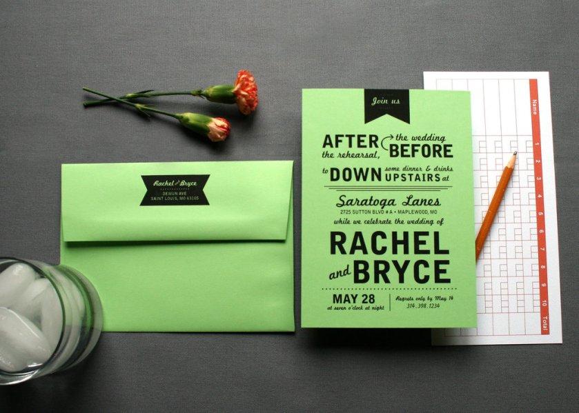 Budget Wedding Ideas Diy Invitations Etsy Weddings Lime Green Black