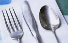 食事テーブルマナー