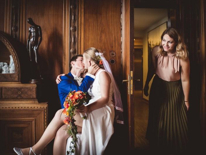 Emotionale Hochzeit auf der Margarethenhöhe in Essen