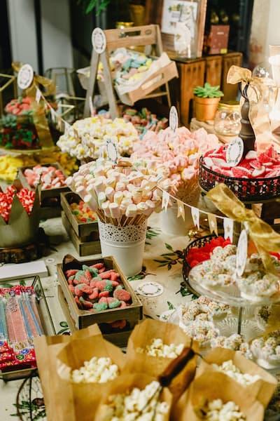 candy bar boho
