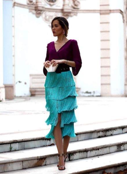 ile dać na wesele jak się ubrać sukienka frędzle