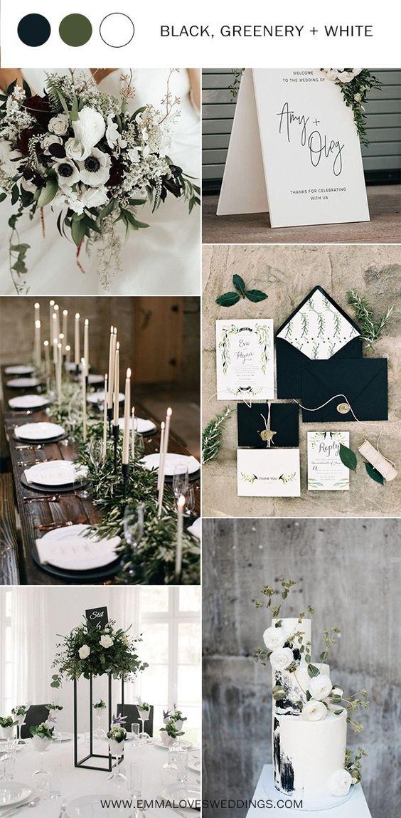Biały kolor przewodni wesela