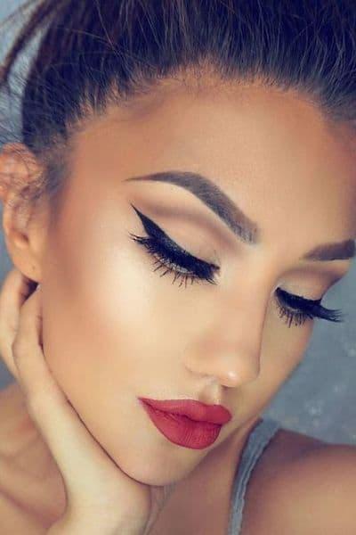 makijaż kreska eyeliner