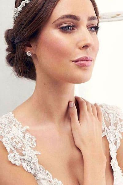 makijaż ślub typ wiosna brązowe włosy