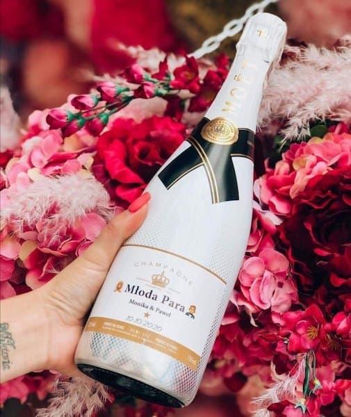 szampan ślub wesele