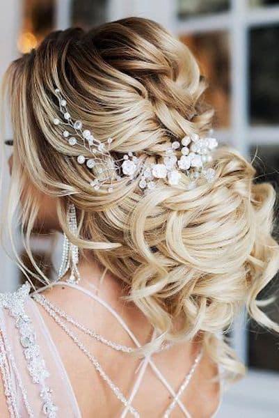 upięcie na ślub dodatki biżuteria