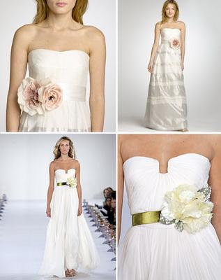 ULAPAN Womens Flowers Bridal Sash Bridal Belt Flowers Wedding Belt Wedding Sash