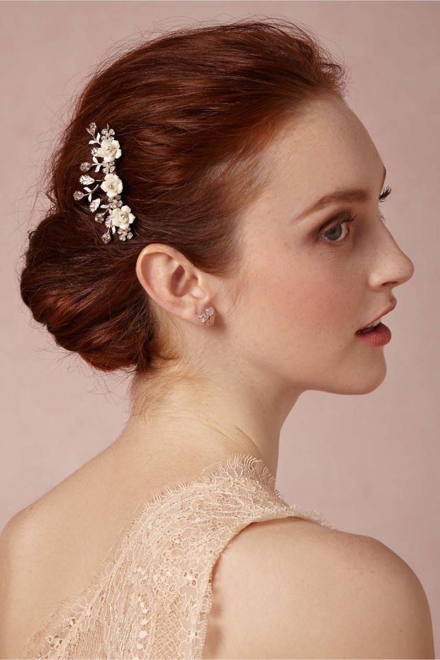 stunning bridal hair accessories under $100 | weddingbells