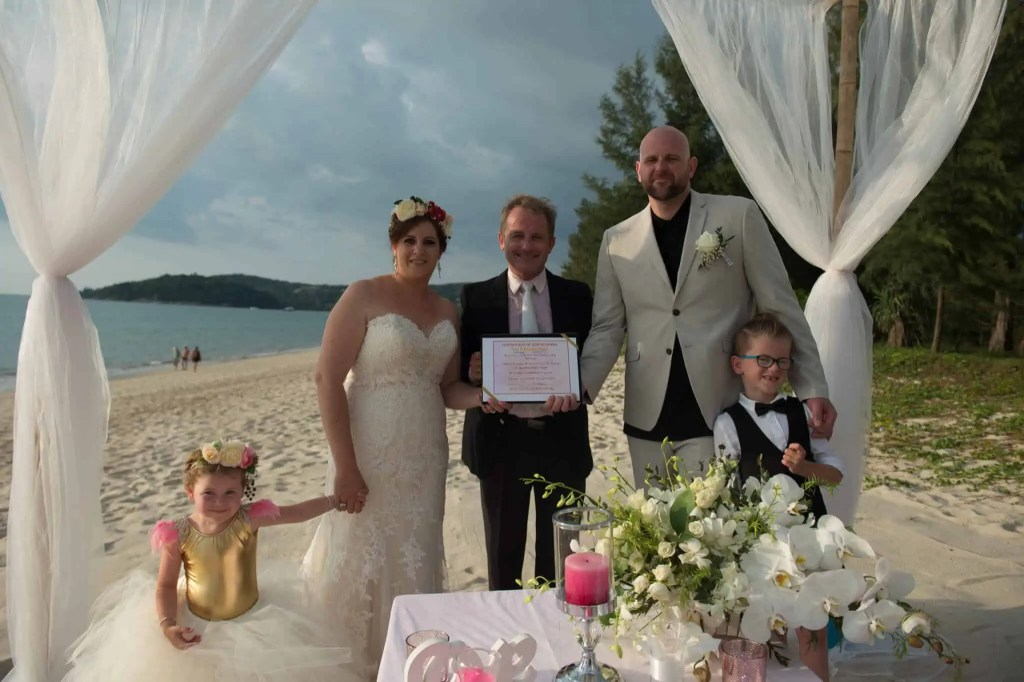 Phuket beach wedding vow renewal (7)