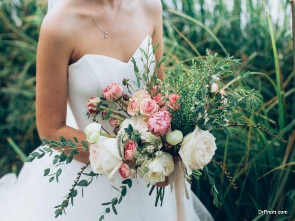 Each wedding flower speaks a different language