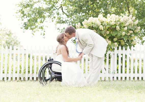 Accessible wedding