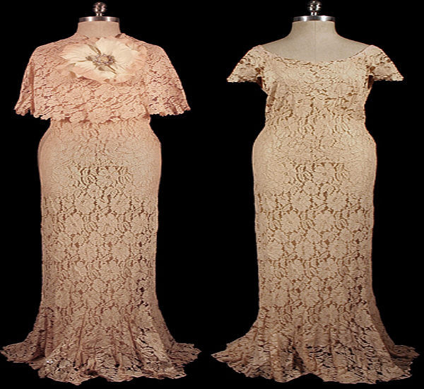 all lace gown
