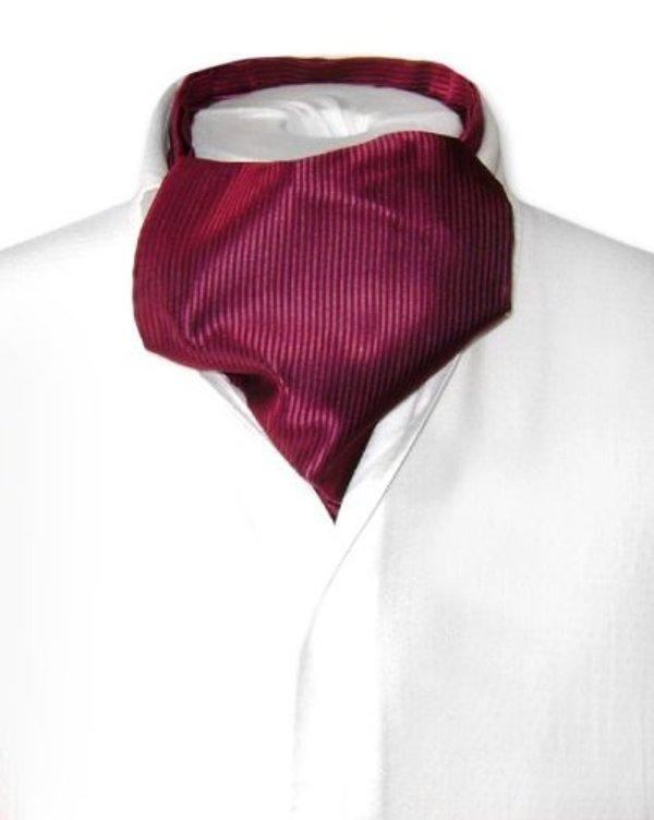 Antonio Ricci Ascot in Solid Burgundy Color