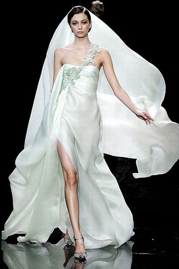 armani prive wedding gown