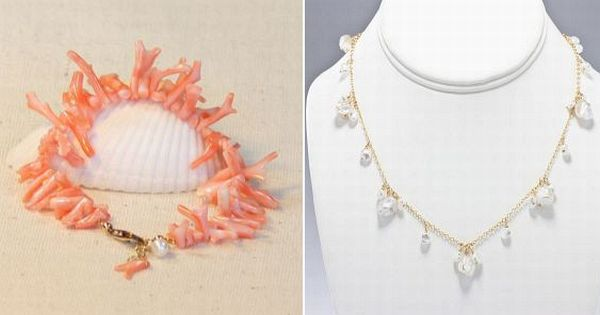 Beach wedding jewelry collection by Beth Devine Designs