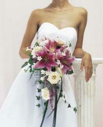 bridal bouquet b28