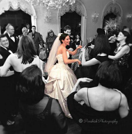 brides dancing wedding dance