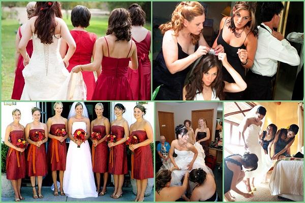 Bridesmaid responsibilites