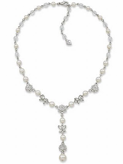 carolee bridal set necklace 49