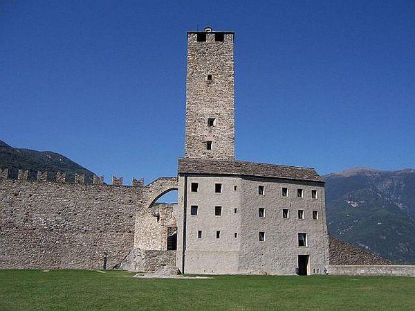Castles at Bellinzona