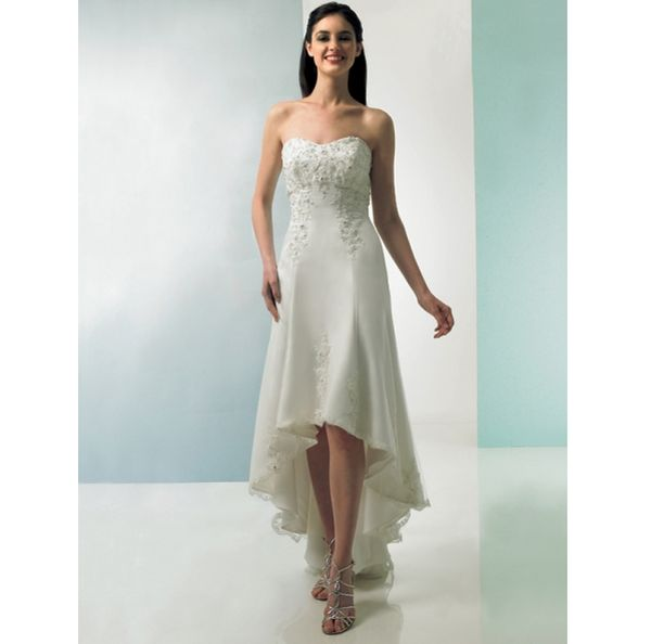 Short wedding gowns for your big day - Wedding Clan